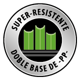 cesped artificial super resistente doble base pp