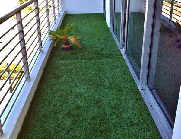 Terrazas con cesped artificial good de terraza con poliurea y cesped artificial with terrazas - Cesped artificial terraza ...