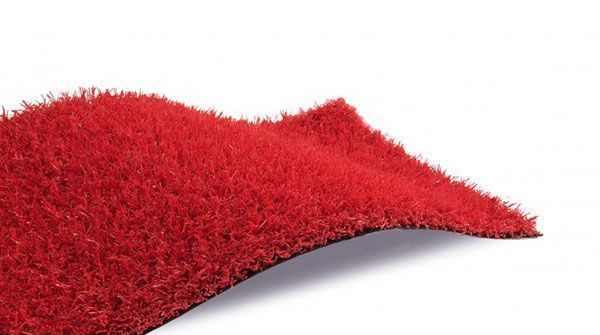 cesped artificial red