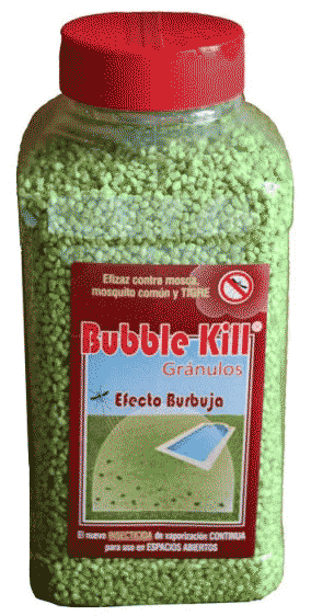 insecticida cesped artificial bubble kill